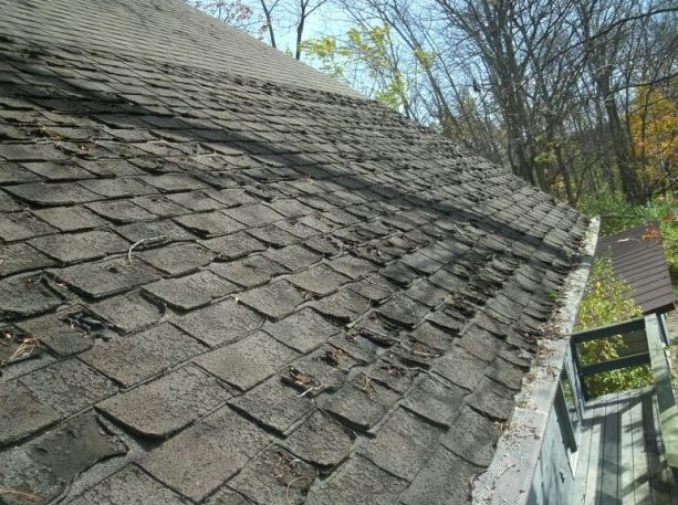 Bad Roof Needs Replacement